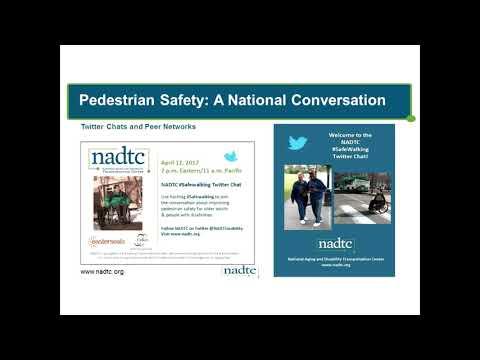 FHWA NADTC Safe Pedestrian Crossings at Transit Webinar