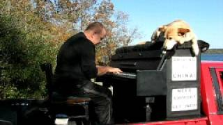 Outdoor Traveling Canadian Piano Improvisation