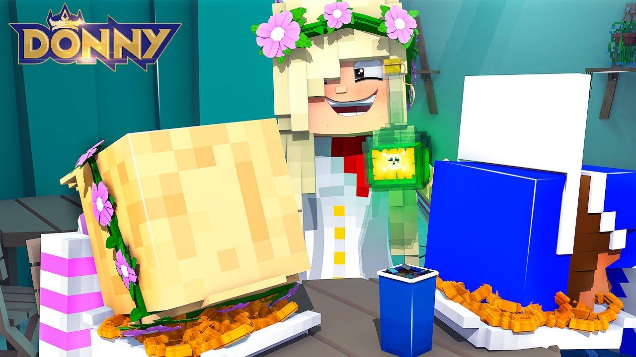 Little Leah's BEST FRIEND GETS REVENGE.... Minecraft