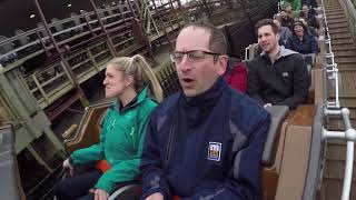 Freaked-Out Reporter Rides Steel Vengeance at Cedar Point