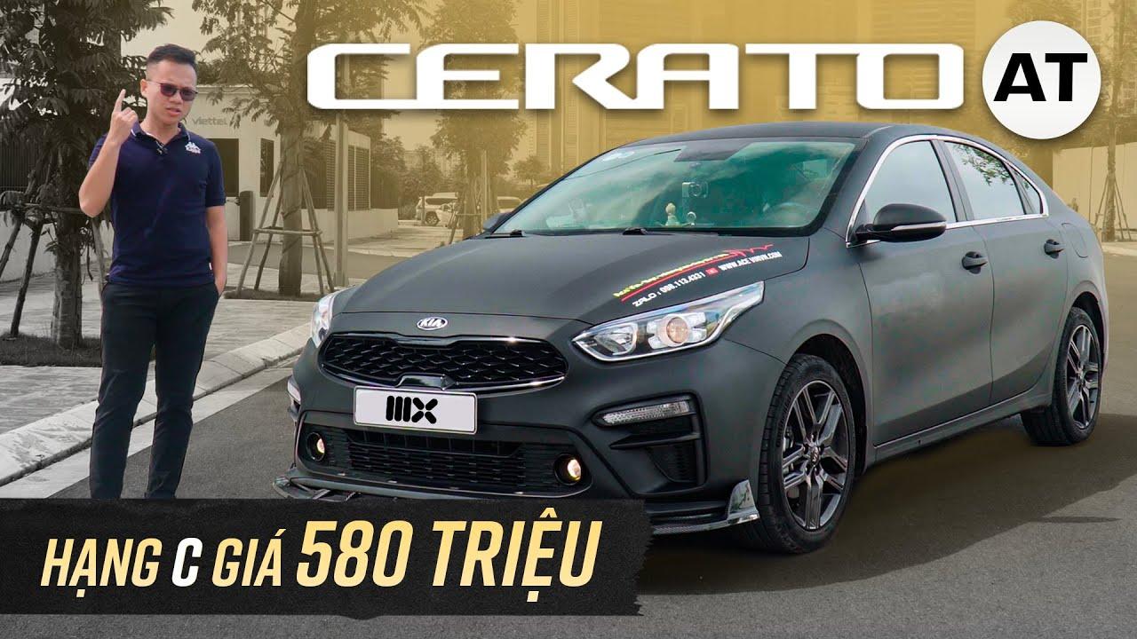 Kia Cerato 1.6 AT: Dưới 600 triệu mua hạng C, bỏ Vios, City và cái giá phải trả