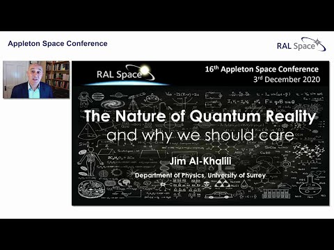 Appleton Space Conference (18) Prof Jim Al-Khalili, University of Surrey. indir