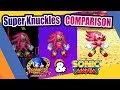 Sonic Mania And Sonic 3 Knuckles Super Knuckles Side By Side Comparison mp3