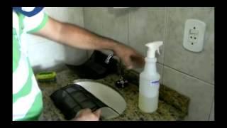 Desinfecção e limpeza de ar condicionado - Higienic
