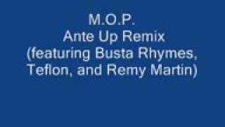 MOP ANTE UP