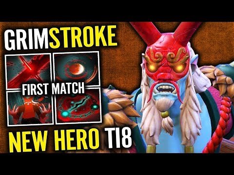 The Painter Guy - GRIMSTROKE New Magic Hero Dota 2 New Hero #TI8 thumbnail