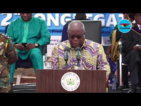 Don't compromise Ghana for headlines and breaking news – Akufo-Addo to journalists
