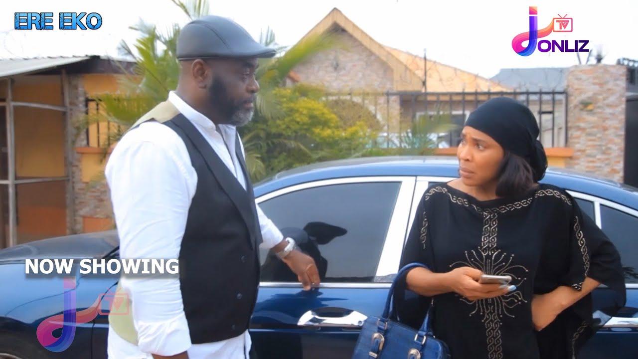 Download ERE EKO Latest Yoruba Movie 2021 Drama Starring  Funsho Adeolu Fathia Balogun   Sunkanmi Omobolanle 