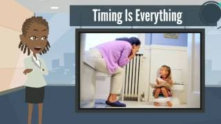 How to Potty Train a Speech Delayed Toddler - step by step tutorial and guide