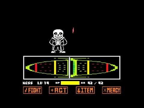 Phase 1 Sans Boss fight no damage! - YouTube