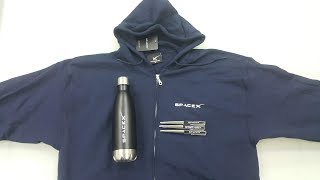 Unboxing SpaceX Floaty 3 Pen Pack, SpaceX Zipper Hoodie and SpaceX Water Bottle