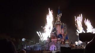 spectacle Disney Dreams disneyland paris octobre 2013