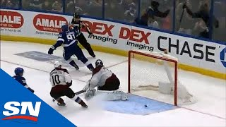 Steven Stamkos Freezes Semyon Varlamov On The Breakaway and Buries His Second Of The Game