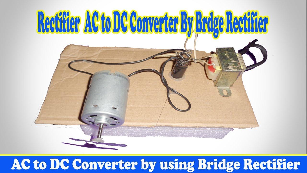 ac to dc bridge rectifier circuit diagram [ 1280 x 720 Pixel ]