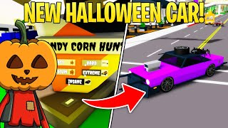HOW TO GET NËW HALLOWEEN UPDATE CAR! (INSANE CANDY CORN Brookhaven Roblox)