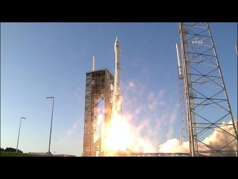 Full Video: NASA launches asteroid-bound space probe