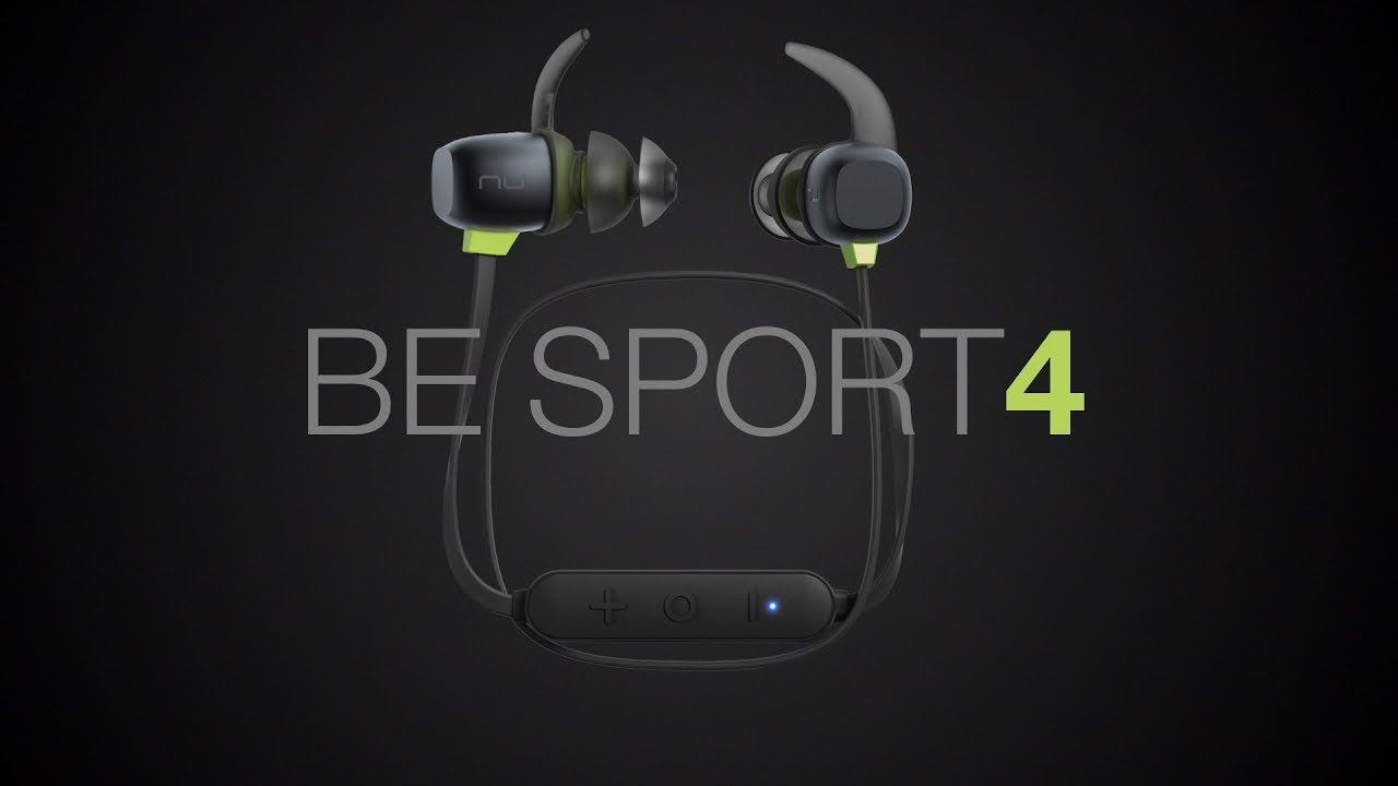 7a781c5055d BE Sport4 Wireless Bluetooth in-ear headphones for sports :: Optoma NuForce