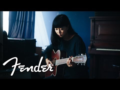 """Alisa Xayalith of The Naked And Famous Performs """"Last Forever""""   Here For The Music   Fender"""