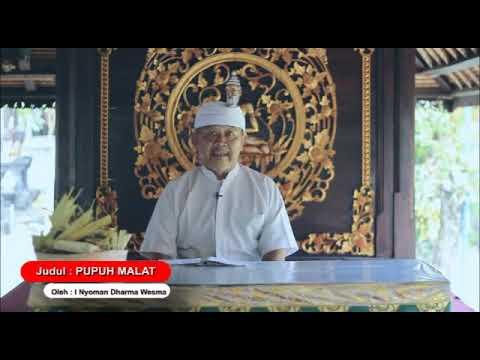 Pupuh Malat - Kumpulan Kidung Dewa Yadnya Pura Puseh Desa Adat Denpasar
