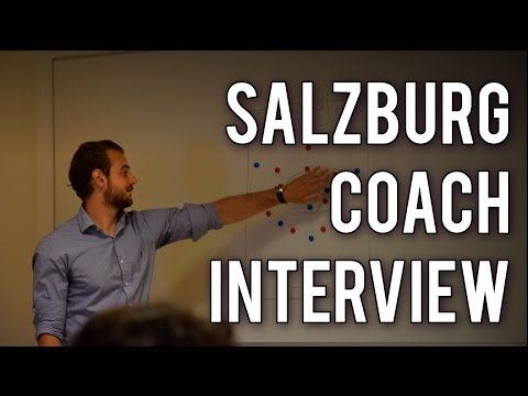 Interview with Red Bull Salzburg coach!!