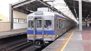 南海電鉄 6000系先頭車6023編成 天下茶屋駅