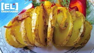 КАРТОШКА ГАРМОШКА Картошка в Духовке Вкусный Рецепт