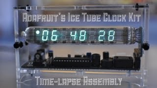 Ice Tube Clock - Timelapse Assembly