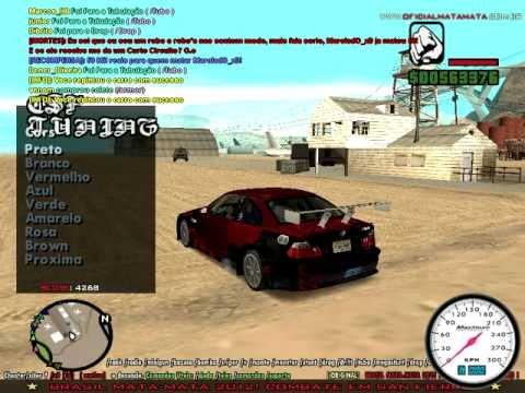 Gta Sa Mp Car Tuning Youtube