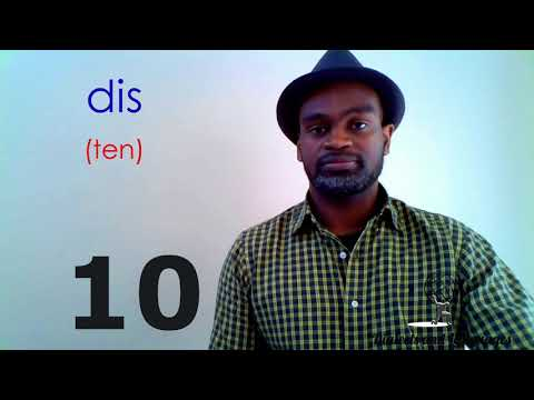ON Haitian Creole - Numbers 1-10 Shorts Series