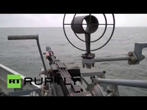 Russia: Caspian Flotilla shows off full combat readiness in flash military drills