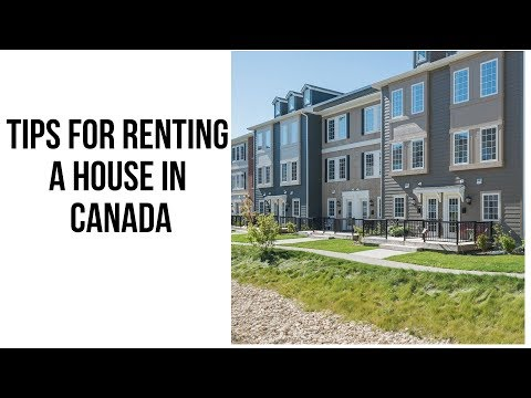Renting A House In Canada