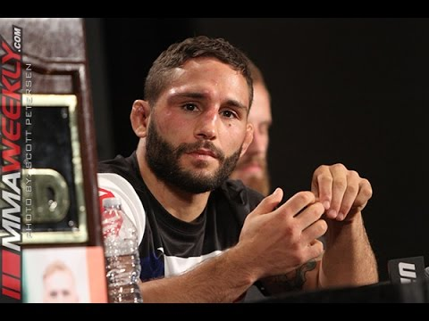 "Chad Mendes: ""Jose [Aldo] Is a Different Beast""  (UFC 189 Post Press)"