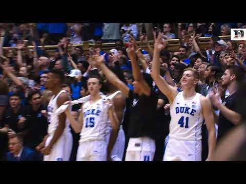 Top Plays: Duke 74, UNC 64 (3/3/18)