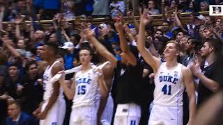 Top Plays: Duke 74, UNC 64 (3/3/18)