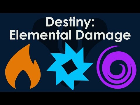 Destiny Beta: Elemental Weapon Damage (Solar, Arc, Void) Explained