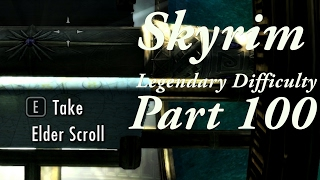 Skyrim Legendary Difficulty Story Part 100 - [Main Quest] Elder Knowledge 6/6