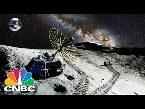 The New Space Race: Mining The Moon For Trillions | Squawk Box | CNBC