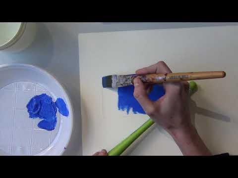 Corso di Acrilico - Tutorial N.1 Come eseguire delle stesure di colore from YouTube · Duration:  11 minutes 58 seconds