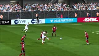 FIFA 14 - Playstation 4  Gameplay - Goals Compilation