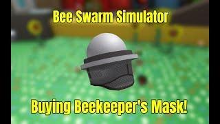 BUYING BEEKEEPER'S MASK | BEE SWARM SIMULATOR (ROBLOX)