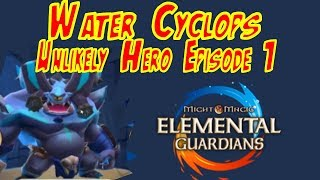 Water Cyclops (Unlikely Hero Episode 1) - Might and Magic Elemental Guardians