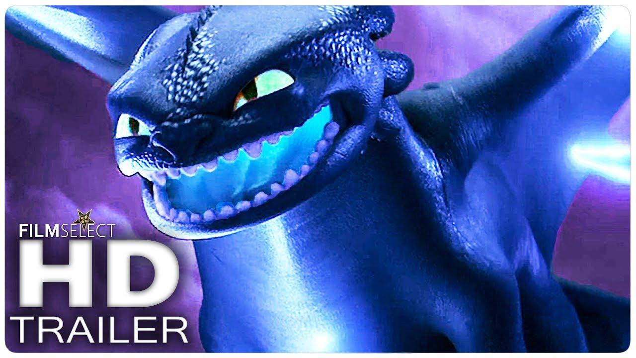 Dragon Trainer 3 Trailer 2 Italiano 2019 Youtube
