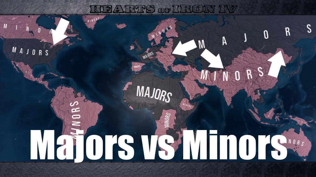 Majors vs Minors - Hoi4 timelapse