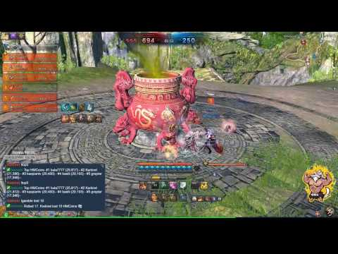 Summoner in Blade and Soul in Clan Battles   Game 01  