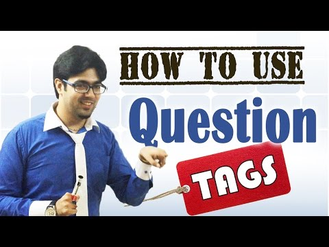 How To Use Question Tags - English Video Lesson
