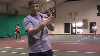 Tennis Lessons: Tennis Grips, Continental and Forehand Grips