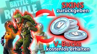 FORTNITE-SKINS BACK AND V-BUCKS: Is this possible? + a THANK YOU