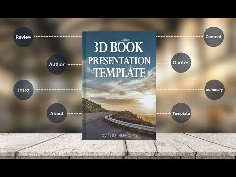 Book Presentation Template For Prezi