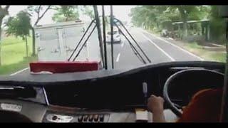 Balapan bus menegangkan Sugeng Rahayu Cepat vs Mobil Box Hampir tabrakan!!!!