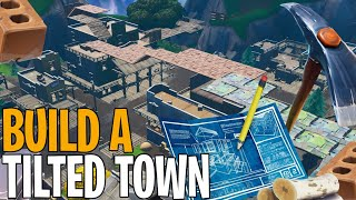A GLITCH for CONSTRUIRE at TILTED TOWN on Fortnite battle royal!